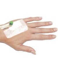 Pharma-ad medicazione fissaggio per ago cannula 8 cm x 9 cm-50 Pezzi
